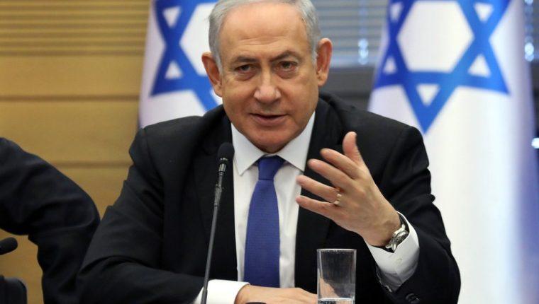 Netanyahu niega los cargos en su contra. AFP