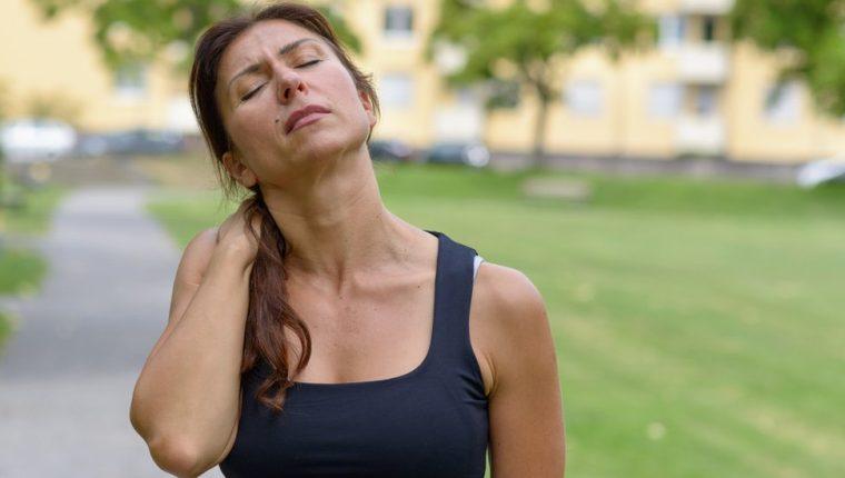 El dolor de cuello puede presentarse a cualquier edad.