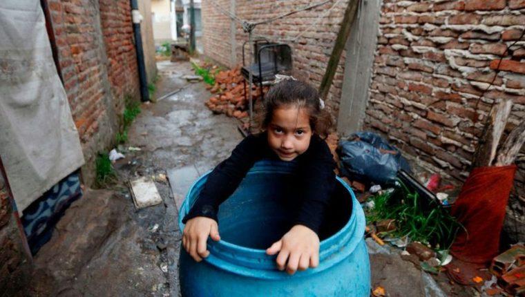 En América Latina el 20% más pobre de la población se queda solo con el 4% del ingreso total.