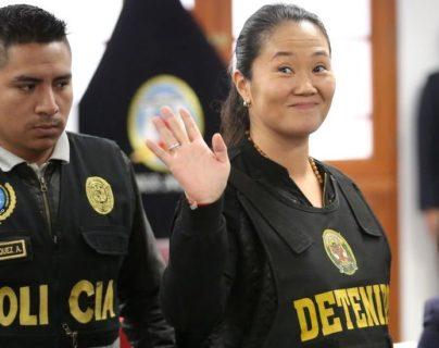 Keiko Fujimori fue puesta bajo detención preventiva el 31 de octubre de 2018.