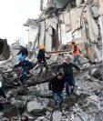 Un fuerte terremoto sacudió este martes a Albanaia causando la muerte de al menos 18 personas. GETTY IMAGES
