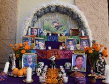 Los rostros de los niños que han muerto en su intento por llegar a Estados Unidos. (Foto Prensa Libre: EFE)