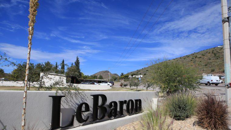Vista general de la comunidad de LeBaron, en el municipio de Galeana, en el estado de Chihuahua, México. (Foto Prensa Libre: EFE).