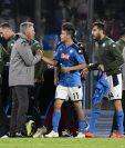 Carlo Ancelotti está en la mira de Napoli por el motín de los jugadores. (Foto prensa Libre: EFE)