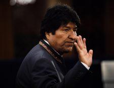 Evo Morales renunció al cargo de presidente de Bolivia. Hemeroteca Prensa Libre
