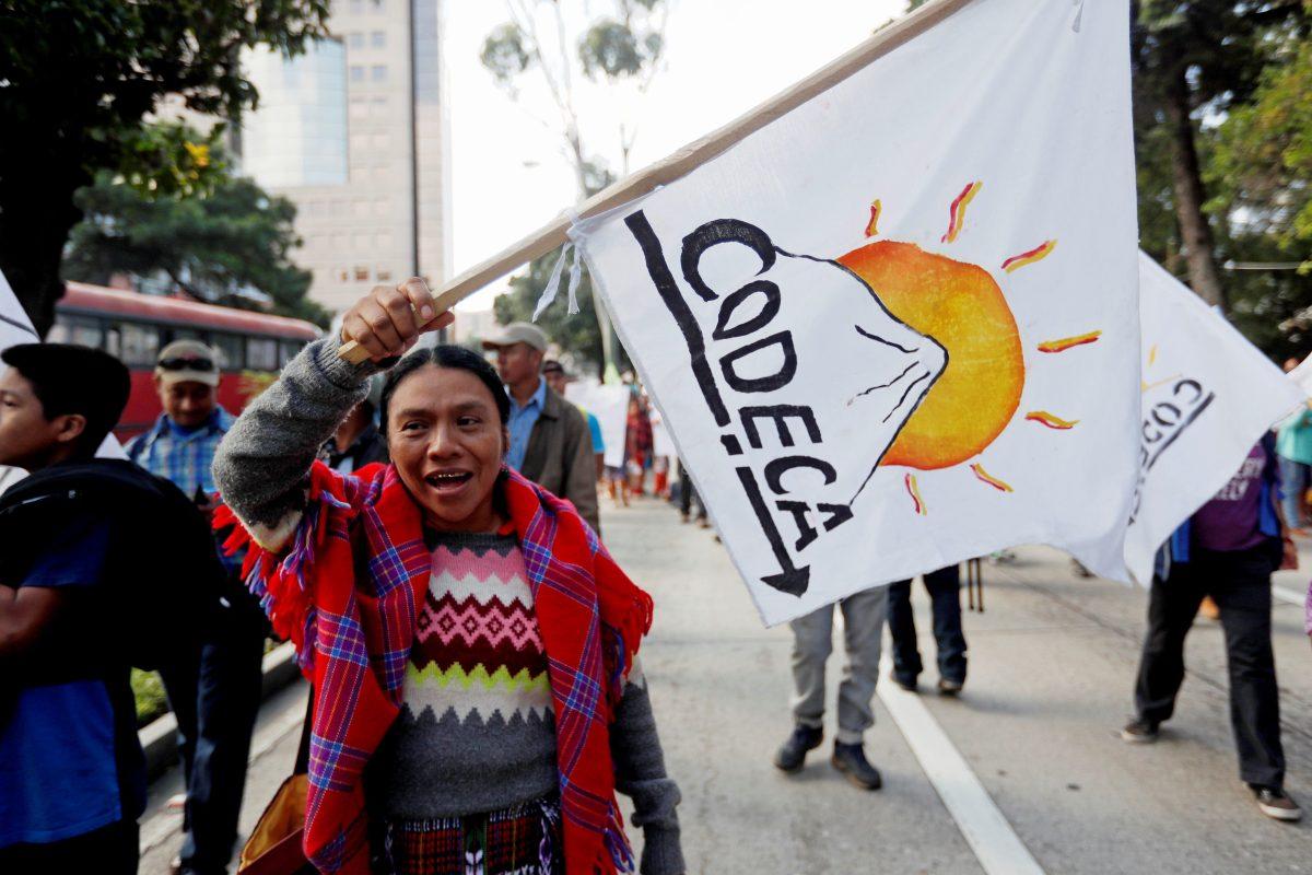 CC ordena garantizar derechos de manifestación y locomoción durante marcha de Codeca