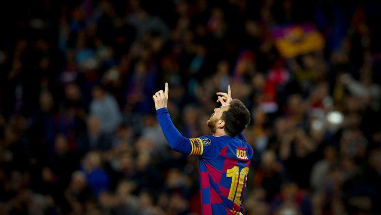 El delantero argentino Lionel Messi disfruta cada partido que juega con el Barcelona. (Foto Prensa Libre: EFE)