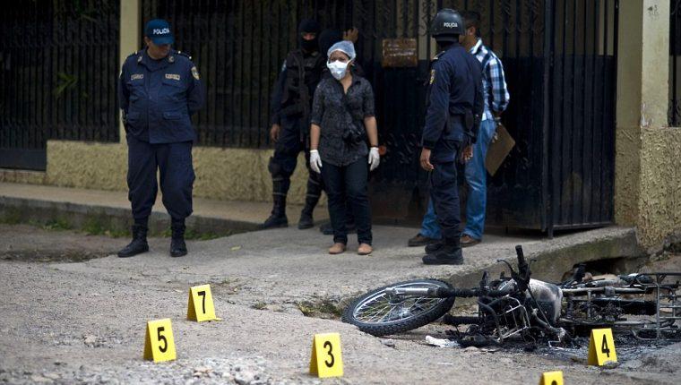 El número de masacres en Honduras este año sube a 61. (Foto referencial: AFP)