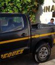 El cuerpo de Santos Rodríguez fue trasladado a la morgue del Inacif. (Foto Prensa Libre: Cortesía)