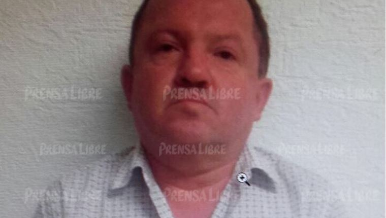 Carlos Rubio Parra, quien estaba prófugo de la justicia guatemalteca y que fue aprehendido en México. (Foto: Hemeroteca PL)