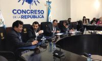 Este martes, 12 de noviembre, se reunió la Comisión de Derechos Humanos del Congreso. (Foto Prensa Libre: José Castro)