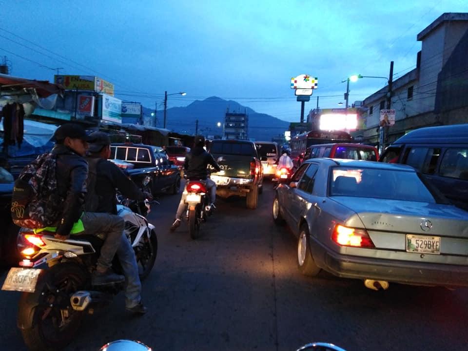 Estos son las actividades de fin de semana que complicarán el tránsito vehicular en Xela