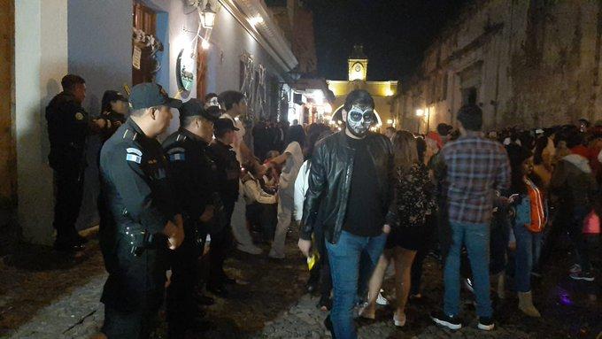 PNC captura a 84 personas en operativos efectuados la noche del 31 de octubre