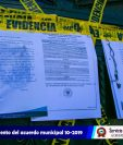 La comuna de Santiago Atiltán, Sololá, cerró tres cantinas por incumplir con el Acuerdo Municipal que prohíbe la venta de licor y cerveza en ese municipio.  (Foto Prensa Libre: Cortesía)