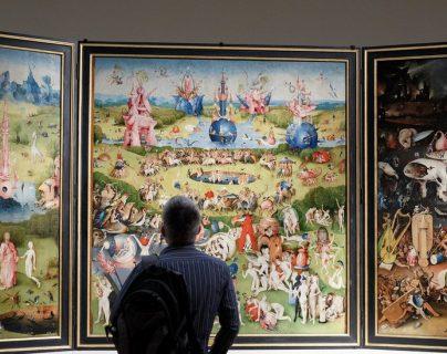 El Museo del Prado, en Madrid, donde se encuentra El jardín de las delicias conmemora 200 años desde su fundación. (Foto Prensa Libre: EFE)