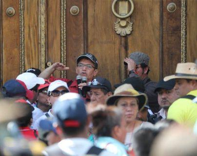 Joviel Acevedo llega al Congreso para presionar por el presupuesto de 2020