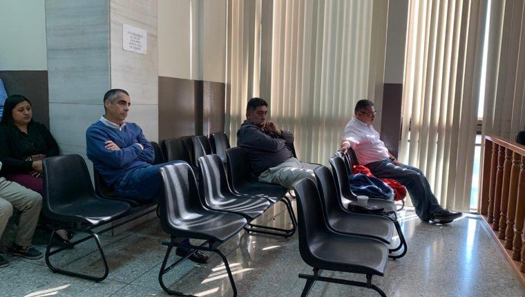 Previo a escuchar sentencia en el Tribunal de Mayor Riesgo D, cuatro acusados en el caso Construcción y Corrupción brindan su última declaración. (Foto Prensa Libre: Cortesía)