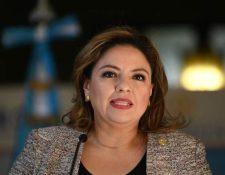 Sandra Jovel, excanciller de Guatemala. (Foto Prensa Libre: Hemeroteca PL)
