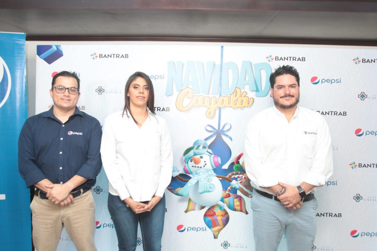"""Bantrab, Pepsi y Ciudad Cayalá presentan """"Navidad Cayalá"""""""