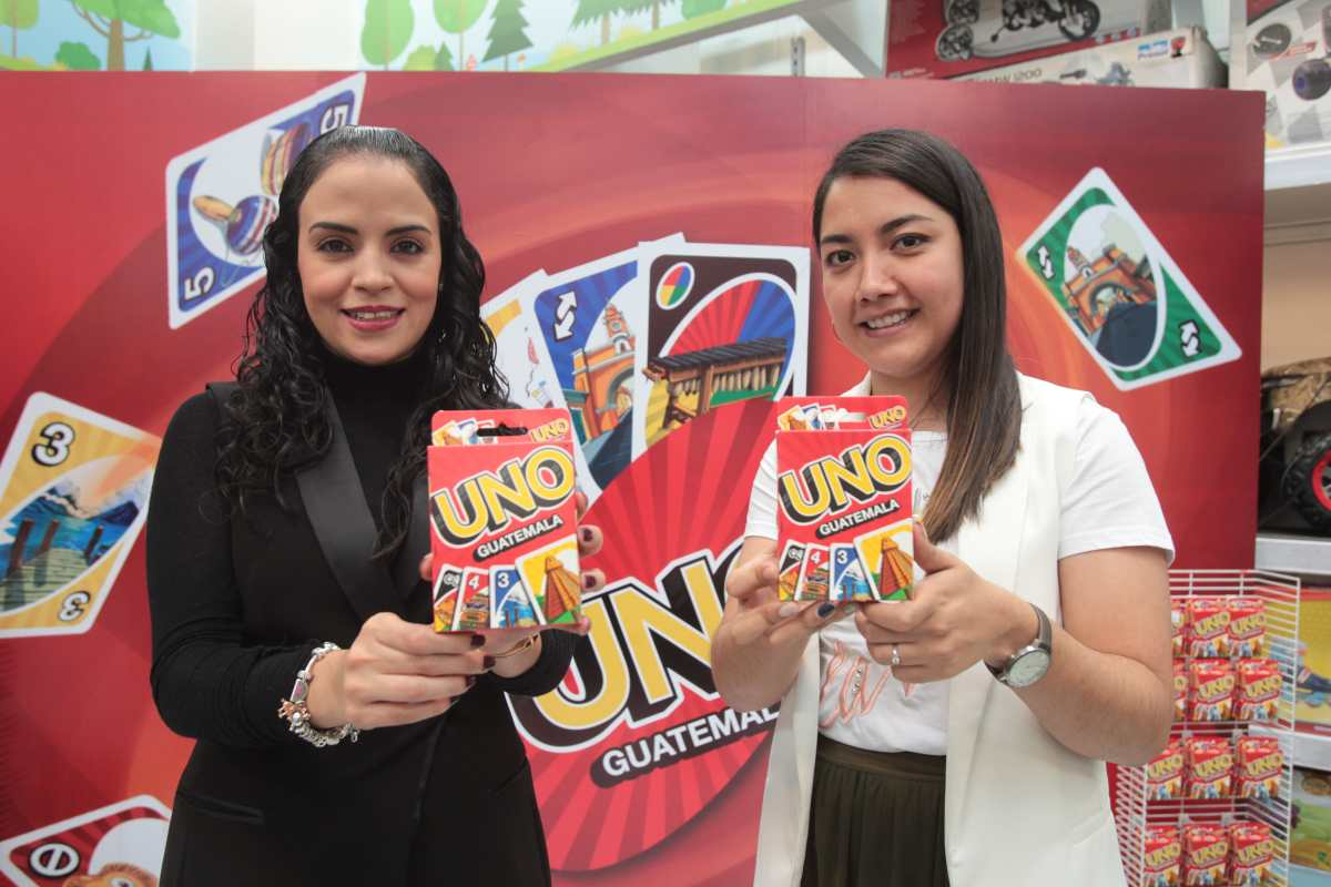 Juguetón y Mattel traen el juego de mesa UNO personalizado para Guatemala