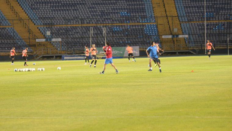 La Selección de Puerto Rico afina sus últimos detalles previo a enfrentar a Guatemala. (Foto Prensa Libre: Norvin Mendoza)