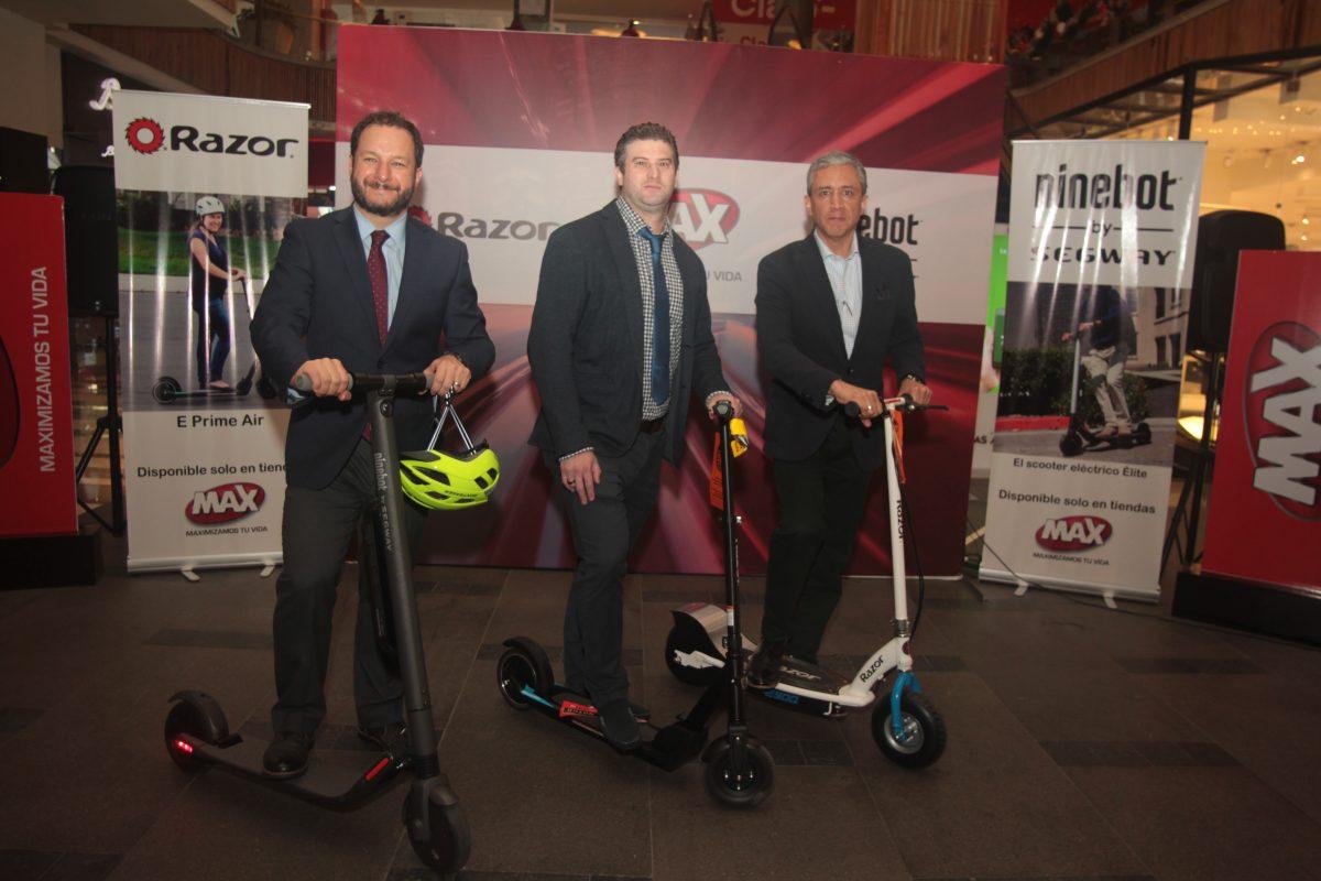 Tiendas Max presenta los nuevos Scooters
