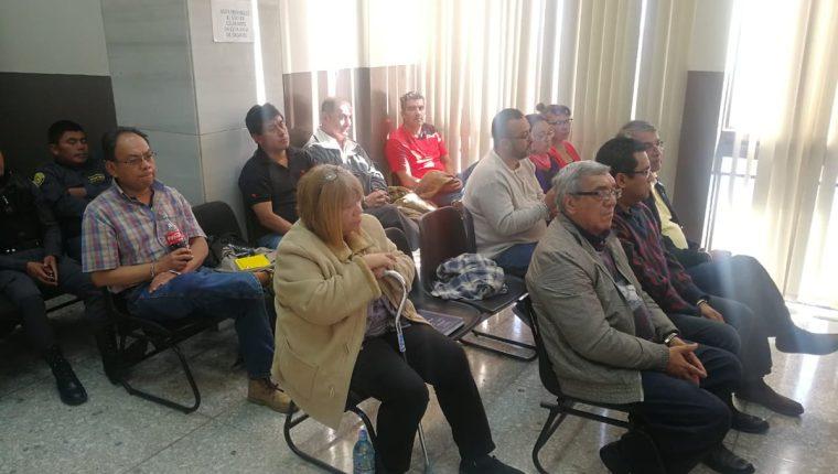 Implicados en el fraude de Q14 millones del pacto colectivo del Ministerio de Salud escuchan a juez en audiencia de primera declaración. (Foto Prensa Libre: Hemeroteca PL)
