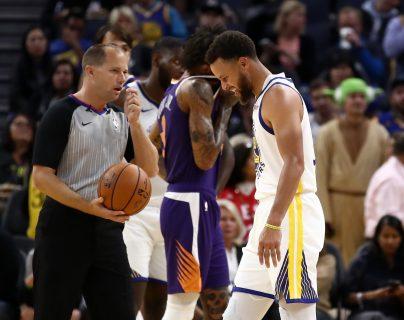 Curry deberá dedicarse a su recuperación. (Foto Prensa Libre: AFP)