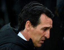Unai Emery, técnico del Arsenal. (Foto Prensa Libre: AFP)