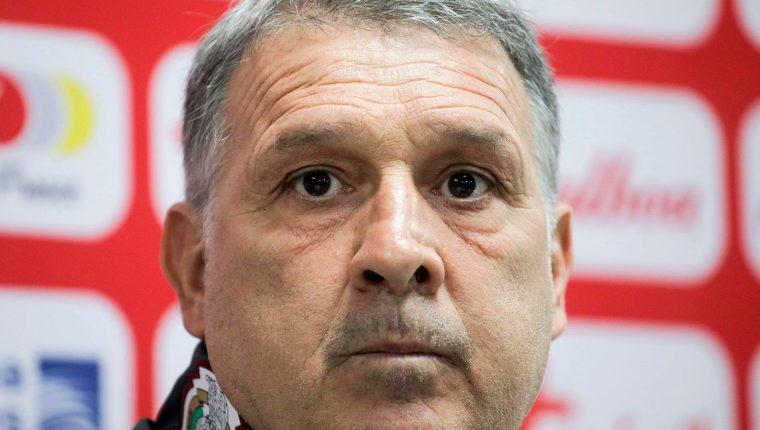 Gerardo Martino, entrenador de la Selección de México, le hará su propuesta a los dueños de equipos. (Foto Prensa Libre: AFP)