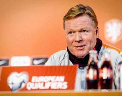 Ronald Koeman, actual seleccionador de futbol de Holanda. (Foto Prensa Libre: APF).