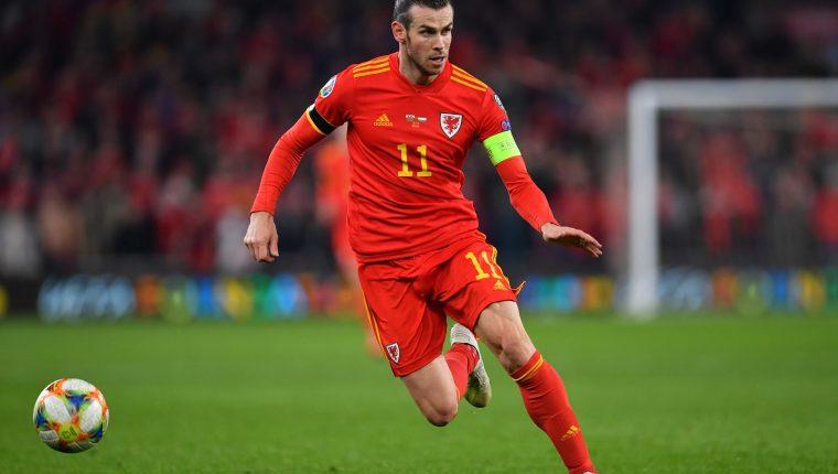 Gareth Bale durante el partido contra Hungría el 19 de noviembre de 2019. (Foto Prensa Libre: AFP).