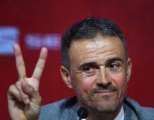 Luis Enrique regresó a la selección española y habló sobre Moreno. (Foto Prensa Libre: AFP)