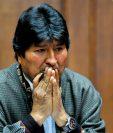 Evo Morales, expresidente boliviano exiliado en México. (Foto Prensa Libre: Hemeroteca PL)