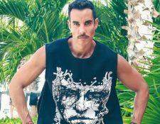 El actor Alejandro Sandí. (Foto Prensa Libre: Tomada del Instagram del actor).