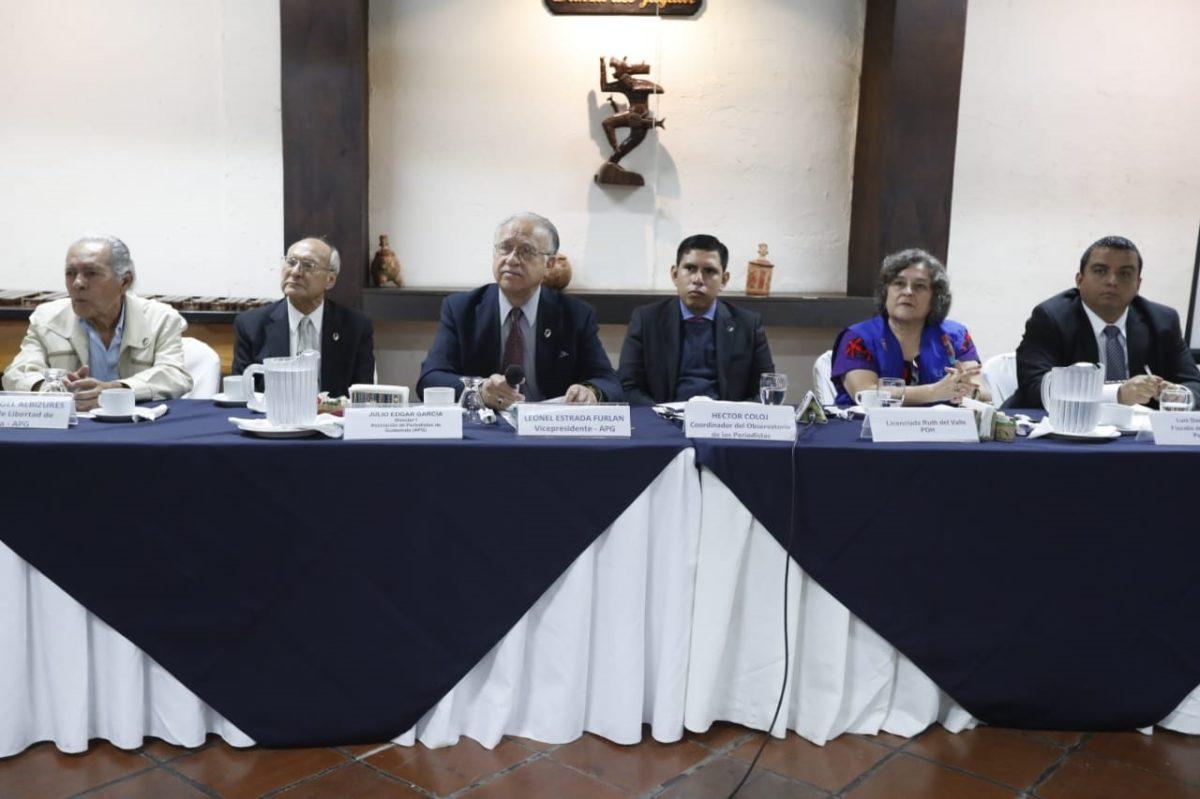 Gobierno de Jimmy Morales significó un retroceso en la protección de periodistas