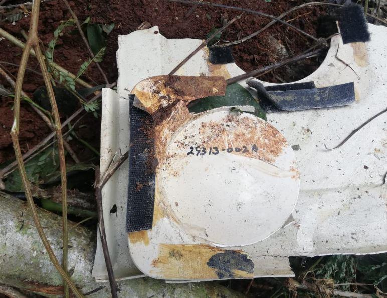 Localizan avioneta incinerada y dos cadáveres cerca de la Laguna Lachuá