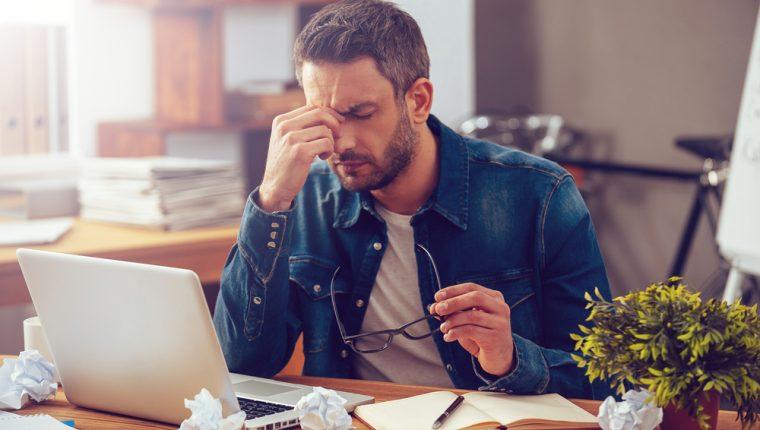 El estrés puede ser provocada por varios factores, incluso la alimentación. (Foto Prensa Libre: Servicios).
