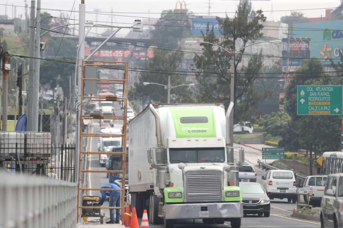 Así funcionará el sistema de báscula que regulará el paso de transporte pesado por el puente Belice