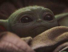 Baby Yoda ha encantado a los internautas. (Foto Prensa Libre: Tomada de @BabyYodaBaby).