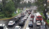 Prevén complicaciones en el tránsito por actividad del Árbol Gallo. (Foto Prensa Libre: Hemeroteca PL).