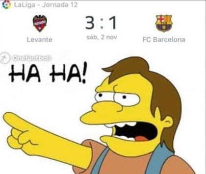 Los memes se burlan del Barcelona, Bayern y Manchester United