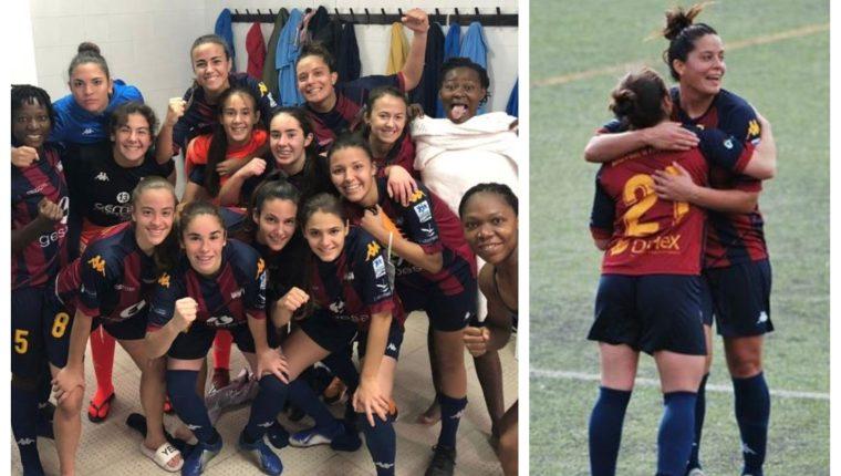 María Amanda Monterroso celebró la victoria con sus compañeras. (Foto Prensa Libre: Instagram)