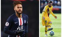 Messi cree que Neymar debe ser su sucesor en el Barcelona. (Foto Prensa Libre: Hemeroteca PL)