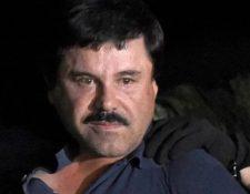 Joaquín el Chapo Guzmán purga cadena perpetua en Estados Unidos por 10 delitos de narcotráfico. (Foto Prensa Libre: Hemeroteca PL)