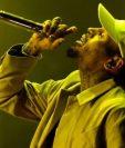 El rapero Chris Brown. (Foto Prensa Libre: AFP).