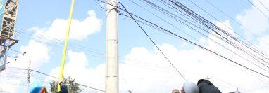 La municipalidad adjudicó la compra de energía eléctrica y potencia luego de que el evento se publicará dos veces en Guatecompras. (Foto Prensa Libre: María Longo)
