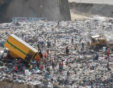 Decenas de personas trabajan como recolectores de desechos en el vertedero de la zona 3 de la capital. (Foto: Hemeroteca PL)