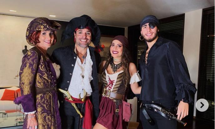 Halloween: artistas celebraron con estos divertidos disfraces