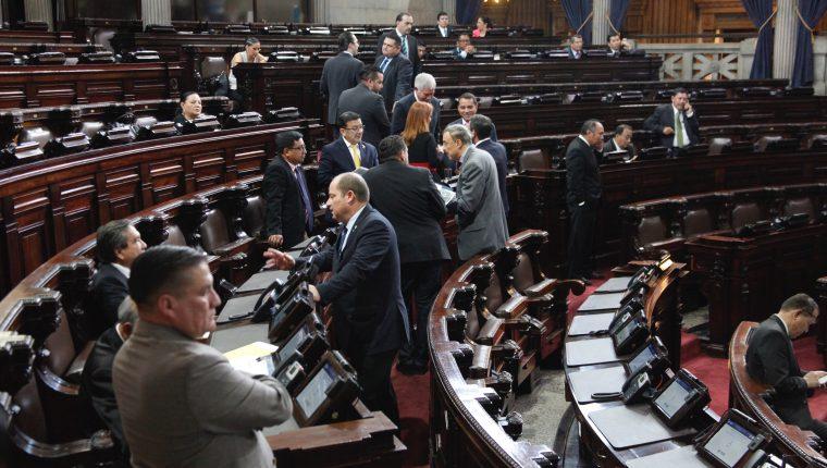 El Congreso ya no programó sesiones para conocer el proyecto del presupuesto 2020, por lo quedará vigente el de 2019 que es de Q87 mil 715 millones, según la ley. (Foto Prensa Libre: Hemeroteca)